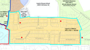 Legend HOA Boundaries
